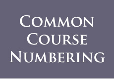 Common Course Numbering